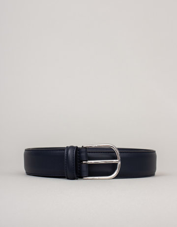 Anderson's Belts and Wallets Anderson's Leather Belt Navy