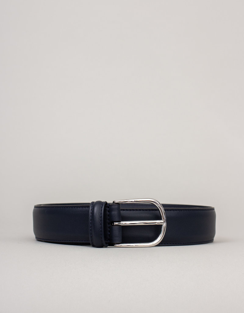 Anderson's Leather Belt Navy