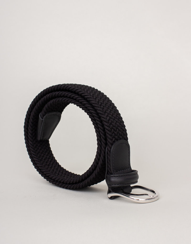 Anderson's Woven Stretch Belt Black