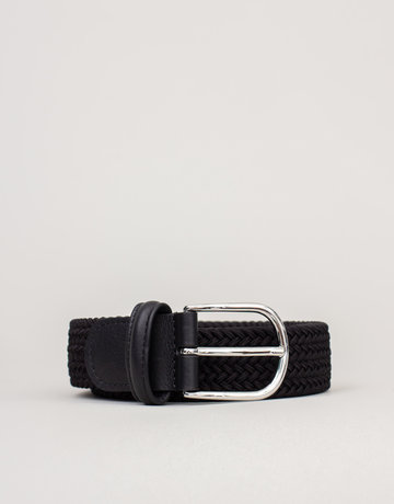 Anderson's Anderson's Woven Stretch Belt Black