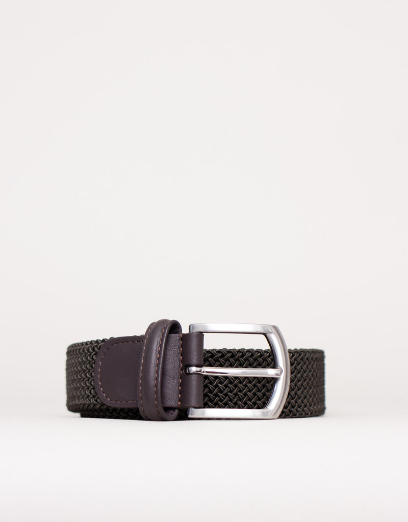 Anderson's Woven Stretch Belt Olive