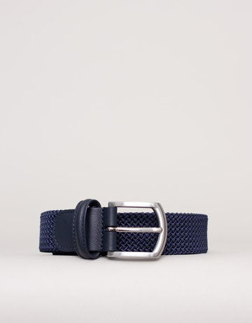 Anderson's Anderson's Woven Stretch Belt Light Navy