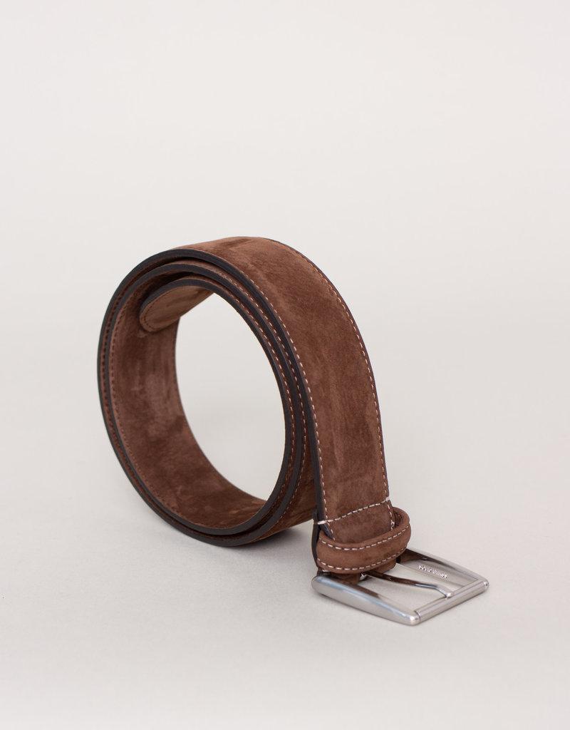 Anderson's Suede Belt Brown