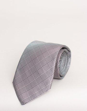 Paolo Albizzati Tie Plaid Houndstooth