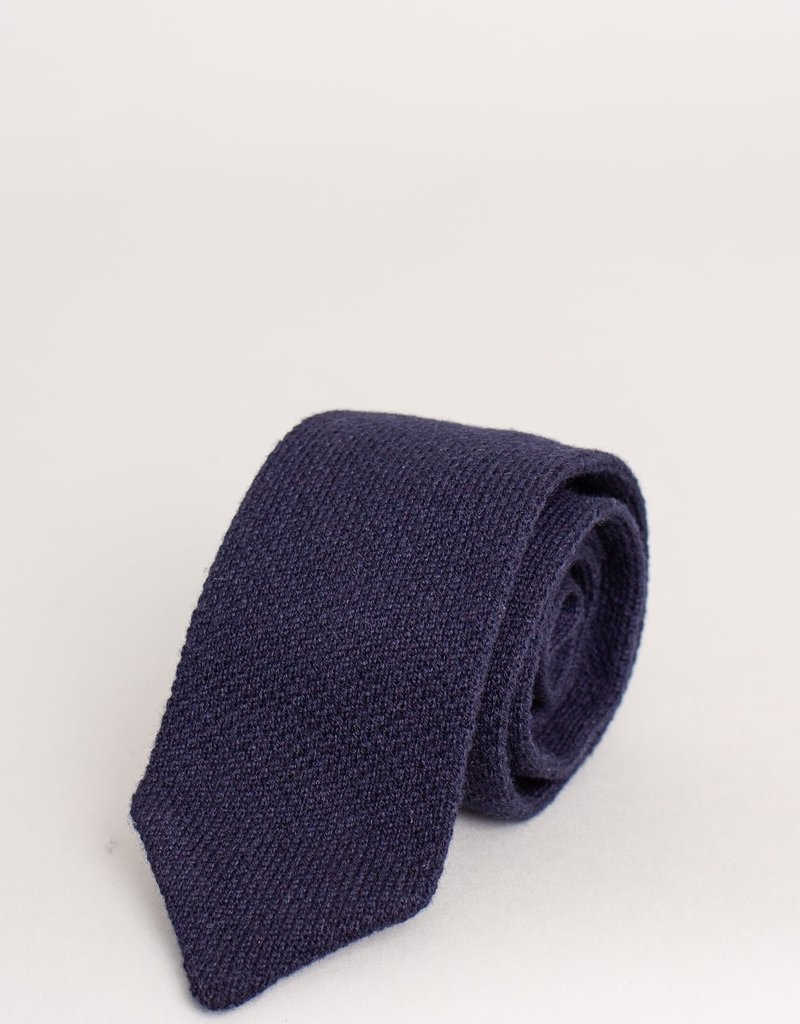 Paolo Albizzati Paolo Albizzati Cashmere Tie Navy
