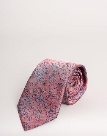 Paolo Albizzati Tie Vintage Red Bouquet