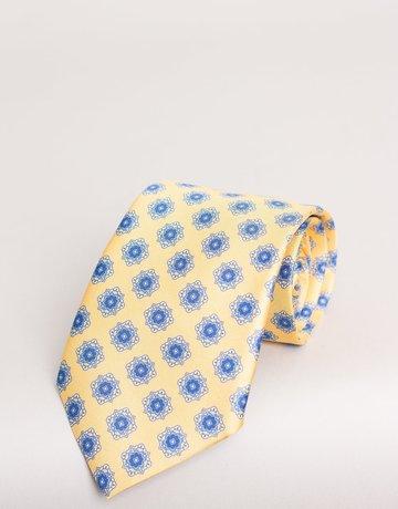Paolo Albizzati Paolo Albizzati Tie Citrus Floral Emblem