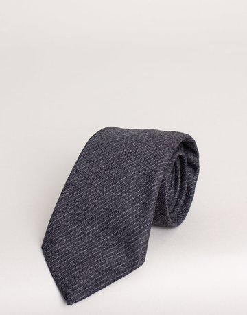 Paolo Albizzati Tie Grey Chalk Stripe