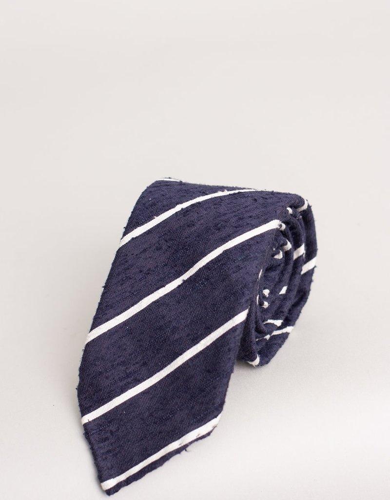 Paolo Albizzati Paolo Albizzati Tie Navy Stripe