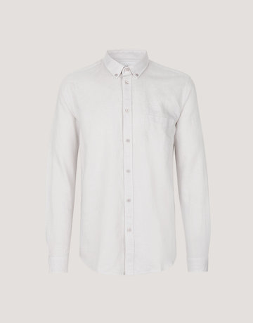 Samsoe Samsoe Liam Button Up Cream