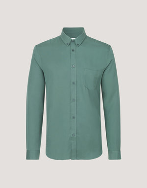 Samsoe & Samsoe Samsoe Liam Button Up Green