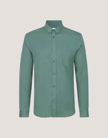 Samsoe Samsoe Liam Button Up Green