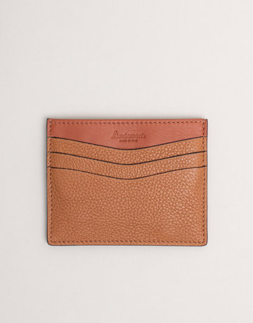 Anderson's Leather Card Holder Wallet Tan