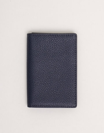 Anderson's Anderson's Leather Wallet Navy