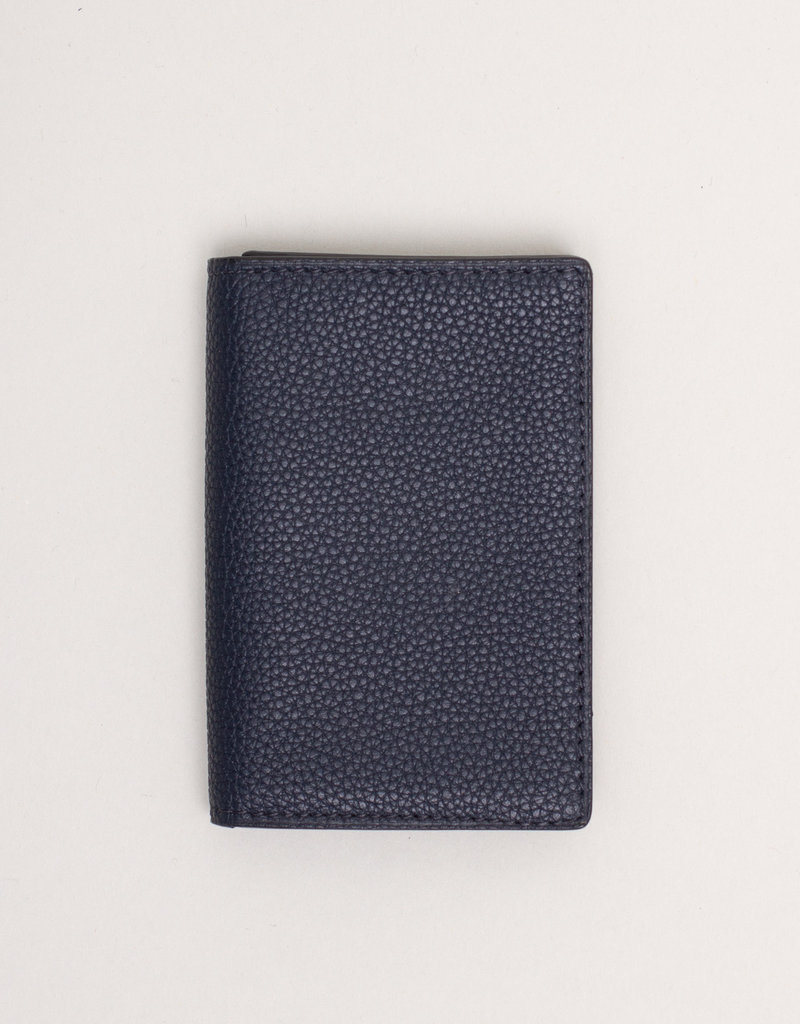 Anderson's Leather Wallet Navy