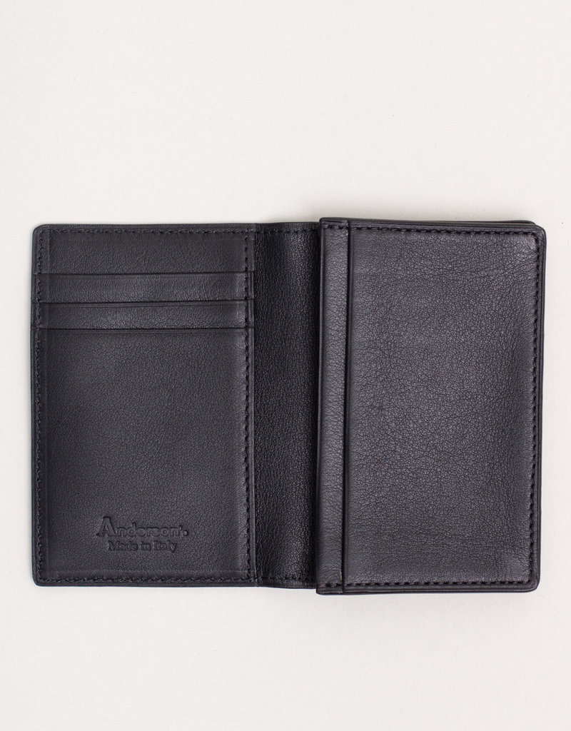 Anderson's Belts and Wallets Anderson's Leather Wallet Grey