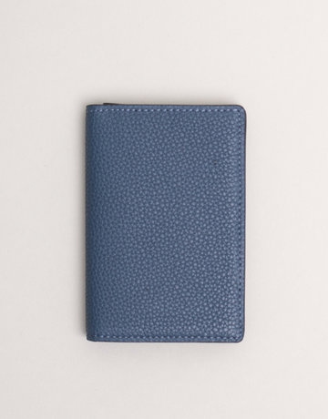 Anderson's Leather Wallet Blue Cobalt