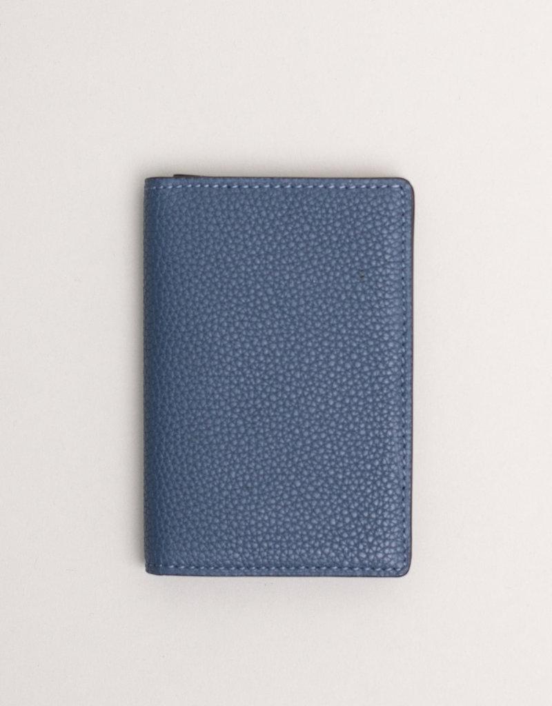 Anderson's Leather Wallet Blue Cobalt