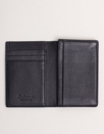 Anderson's Leather Wallet Black