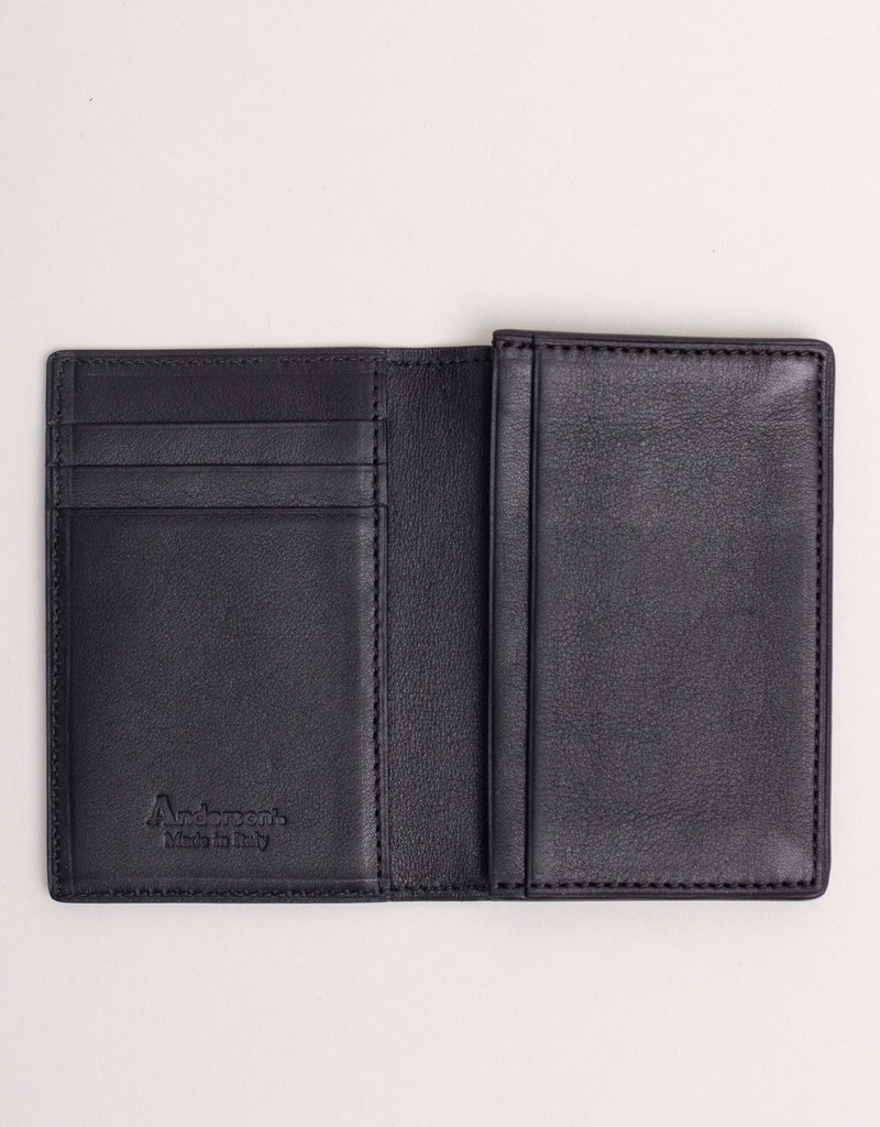 Anderson's Belts and Wallets Anderson's Leather Wallet Black