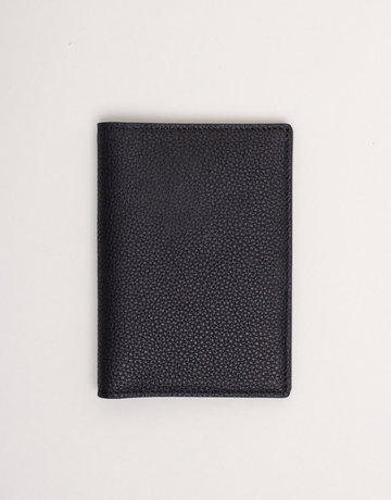 Anderson's Belts and Wallets Anderson's Leather Passport Holder Black