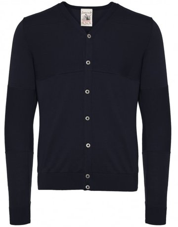 S.N.S. Herning S.N.S Herning Cardigan Exit Crew Neck Marine
