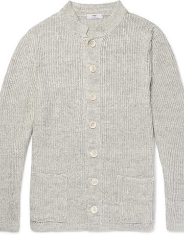 Inis Meain Inis Meain Cardigan Light Grey