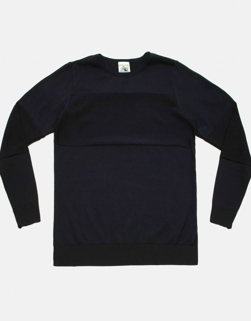 S.N.S. Herning S.N.S. Herning Exit Crew Neck Marine Sweater