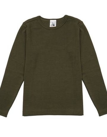 S.N.S. Herning S.N.S. Herning Exit Crew Neck Army Moss Sweater