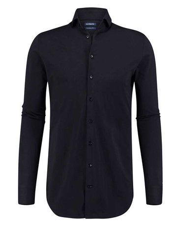 Blue Industry Blue Industry Oscar Shirt Button Up Black