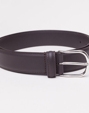 Anderson's Belts and Wallets Anderson's Leather Belt Toasted Dark Brown