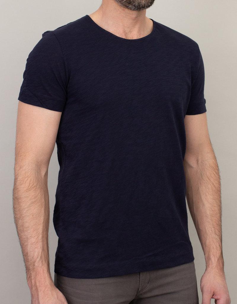 Samsoe Samsoe Scoop Neck T-Shirt Navy