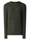 Samsoe Samsoe Cale Green Sweater