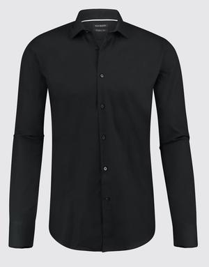 Blue Industry Blue Industry Essential Dress Shirt Black