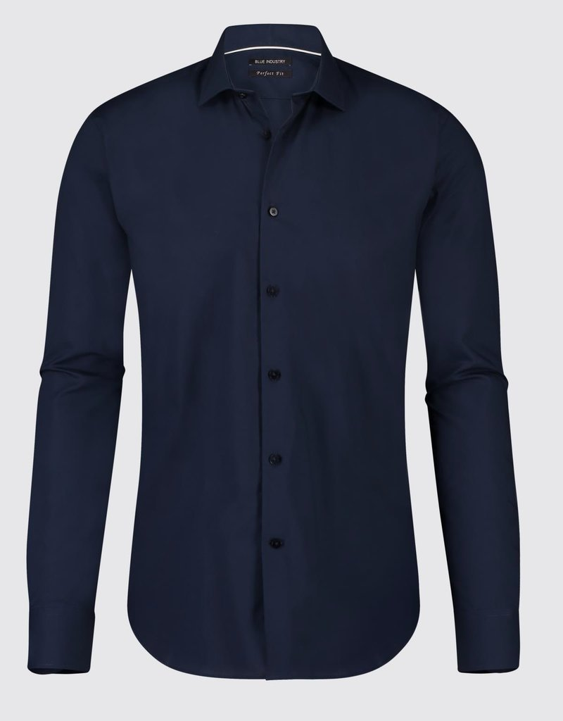 Blue Industry Blue Industry Essential Dress Shirt Navy