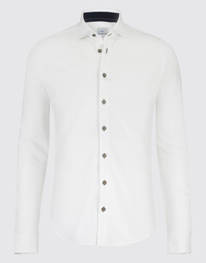Blue Industry Blue Industry Jersey Long Sleeve Shirt White