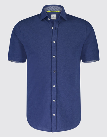 Blue Industry Blue Industry Button Up Polo Blue