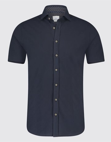Blue Industry Blue Industry Button Up Polo Navy