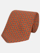 Turnbull & Asser Turnbull & Asser Tie Orange Great Gatsby