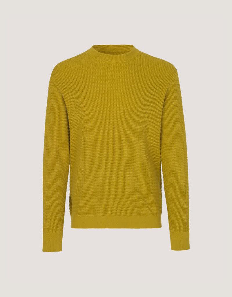 Samsoe Samsoe Crew Neck Sweater Mustard Yellow