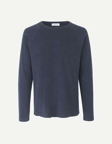 Samsoe Samsoe Crew Neck Billund Long Sleeve Dark blue