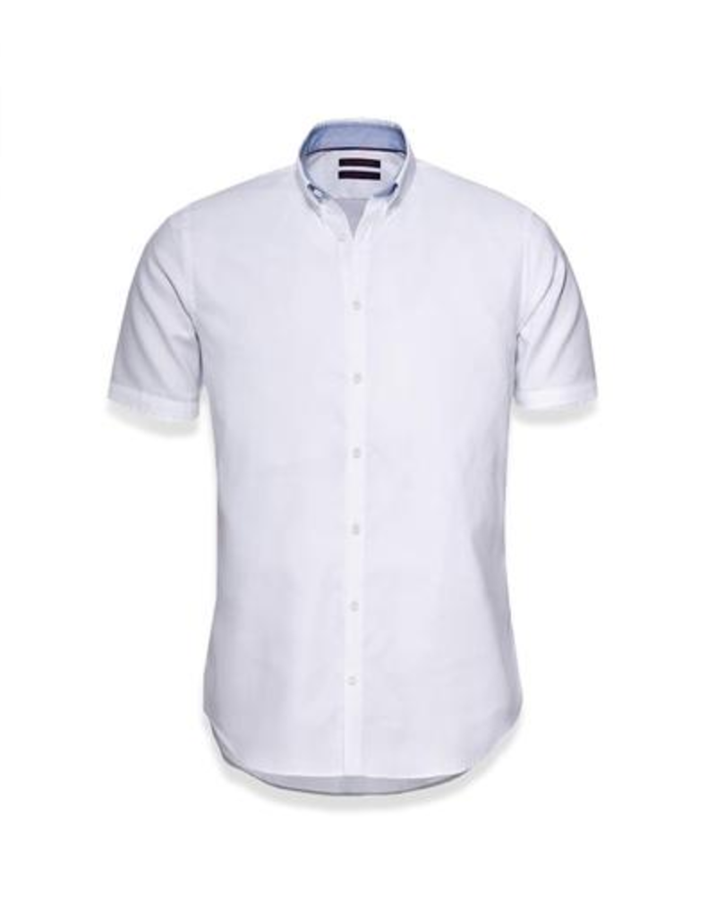 Blue Industry Blue Industry Button Up Polo White