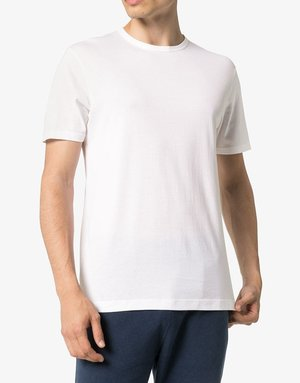 Sunspel Sunspel Classic Crew Neck T-shirt White