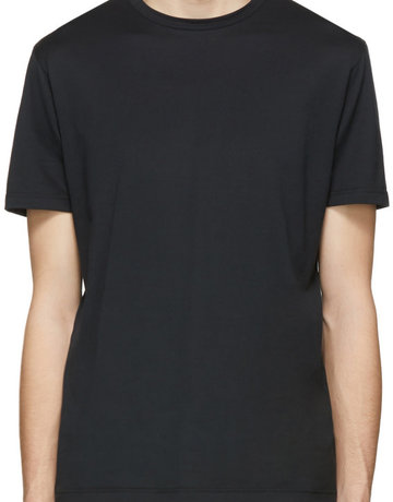 Sunspel Sunspel Classic Crew Neck T-shirt Black