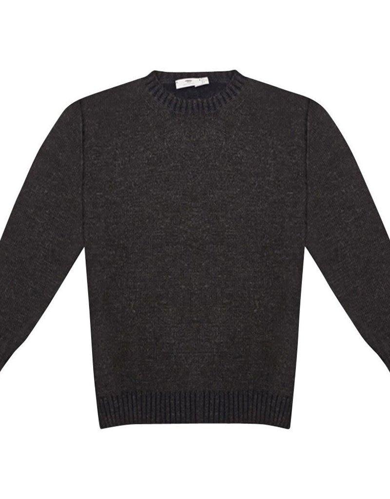 Inis Meain Inis Meain Plated Alpaca Brown Sweater