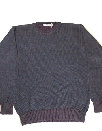 Inis Meain Inis Meain Plated Alpaca Navy Sweater