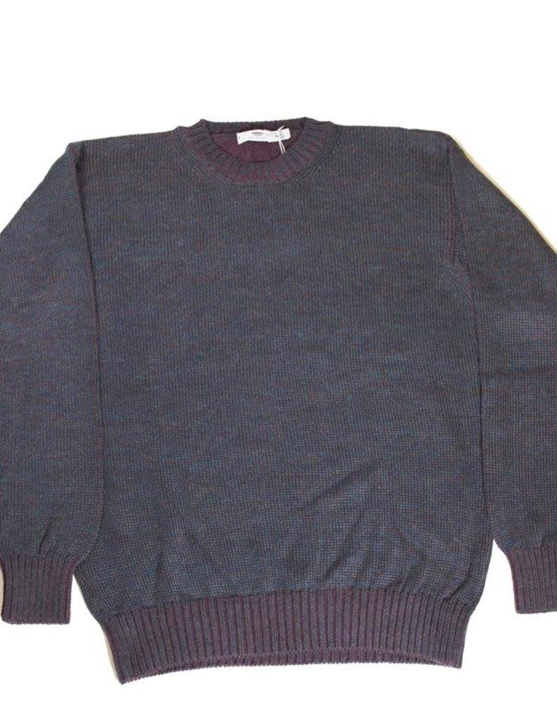 Inis Meain Inis Meain Plated Alpaca Navy Sweater