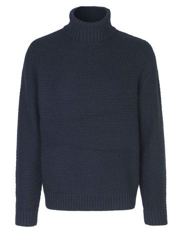 Samsoe Samsoe Fleetwood Navy Sweater