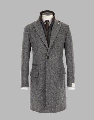L.B.M 1911 L.B.M 1911 Overcoat Grey