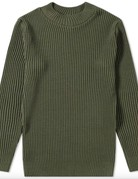 S.N.S. Herning S.N.S Herning Patent Crew Neck Army Moss Knit